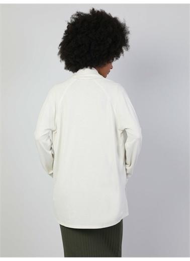 Colin's CL1047167_Q1.V2_OFW  Regular Fit  Kadın Beyaz Hırka Beyaz